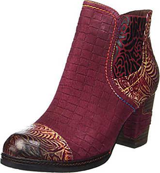 5f3a3ca3394e6f Laura Vita Damen Anna 11 Chelsea Boots Rot (Wine) 39 EU
