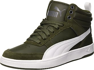 da007920415 Puma Unisex Adults Rebound Street v2 Hi-Top Trainers