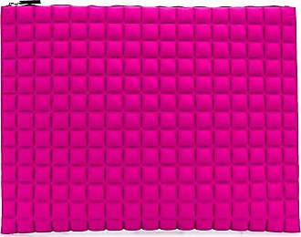 No Ka'Oi Pouch oversize con motivo geometrico - Di colore rosa