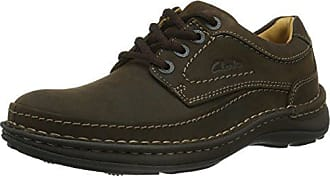 homme Ebony Chaussures UK Oily ville Clarks 40 EU 5 Marron de Three Nature 6 qE0AxqwUBX