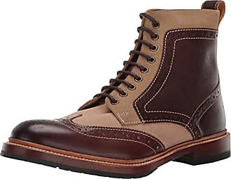 Stacy Adams Mens M-2 Wingtip Lace up Boot Ankle, Brown Multi, 7.5 D US