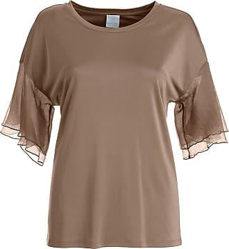 Madeleine Elegantes Shirt in taupe MADELEINE Gr 34 für Damen. Seide. Waschbar