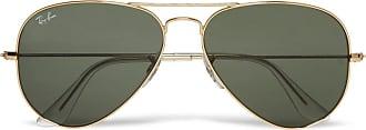 Ray-Ban Aviator Gold-tone Sunglasses - Gold