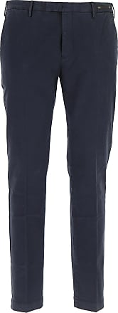 PT01 Pants for Men On Sale, Midnight Blue, Cotton, 2017, 32