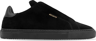 Axel Arigato Clean 90 Zip Sneaker - Black Suede Leather