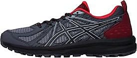Asics running shoes with a reversed lug outsole to optimize traction up and down hill. The mesh upper helps to keep your feet cool and dry