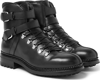 O Keeffe Alvis Leather Boots - Black