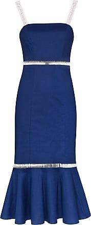 Staud Vestido midi Lychee - Azul