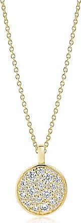 Sif Jakobs Jewellery Anhänger Novara - 18K vergoldet mit weißen Zirkonia