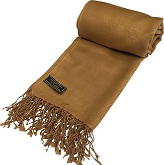 CJ Apparel Brown Solid Colour Design Shawl Seconds Scarf Wrap Stole Throw Pashmina Pashminas NEW
