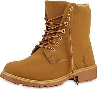 Scarpe Vita Women Bootee Worker Boots Zipper Tread Sole 126327 Light Brown UK 6.5 EU 40