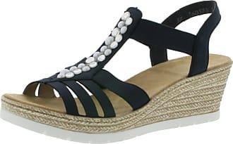 Rieker Womens 61966-14 Closed Toe Sandals, Blue (Pazifik 14), 6.5 UK