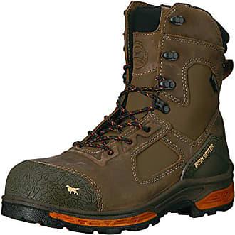 Irish Setter Work Mens Kasota 8 Waterproof Safety Toe Work Boot, Brown, 9 D US