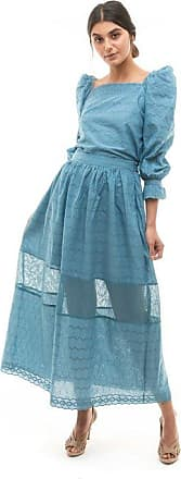 Tulle Jour Blusa Bella Azul - Mulher - PP BR