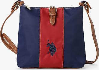 U.S.Polo Association Damen Umhängetasche blau