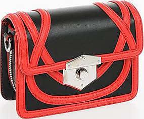 Alexander McQueen Leather WIKKA Mini Bag Größe Unica