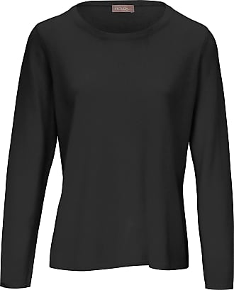 include Round neck jumper in pure new wool and cashmere include black