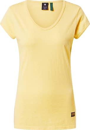 G-Star Shirt Core Eyben gelb