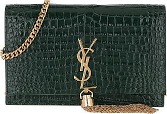 Saint Laurent Cross Body Bags - Kate Monogramme Wallet On Chain Mint - green - Cross Body Bags for ladies