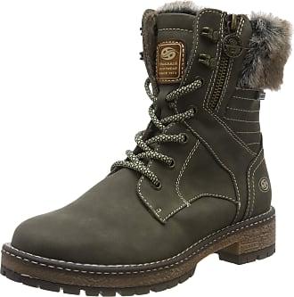 Dockers by Gerli Womens 43ca305 Combat Boots, Green (Bottle 830), 4.5 UK