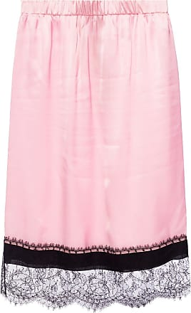 N°21 Lace-trimmed Skirt Womens Pink