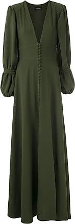 OLYMPIAH Vestido longo Império - Verde