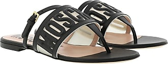 Moschino Sandals - Mule Sandals Black - black - Sandals for ladies