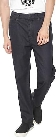 Ellus Calça Jeans Ellus Slim Básica Preta