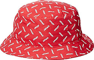 Oakley Mens Logo Hat, red line, One Size Fits All