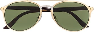 Cartier Óculos de sol aviador CT0212S - Dourado