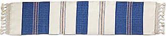Novica Hand Woven Striped Elegance Cotton Table Runner