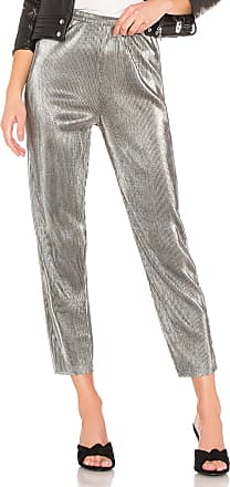 House Of Harlow x REVOLVE Kate Pant in Metallic Silver