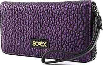 2744ae0dbd1f2 soccx Samari Zipper Wallet Purple