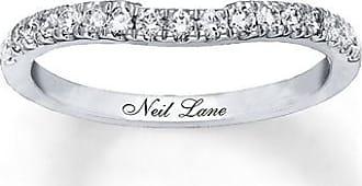 Neil Lane Wedding Band 1/3 ct tw Diamonds 14K White Gold