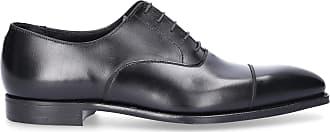 Crockett & Jones Business Shoes Oxford HAREWOOD calfskin smooth leather black