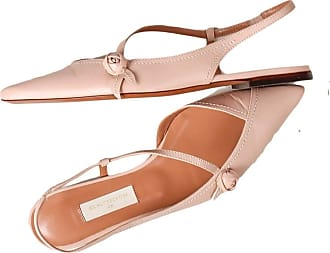 L'autre Chose Low Toe Sandals Made in Italy Beige Size: 6 UK