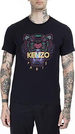 Kenzo Kenzo Mens Tiger Head T-Shirt XL Black