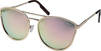 Quay Eyeware Cherry Bomb (Rose Gold/Pink Mirror) Fashion Sunglasses