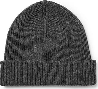 e2fd9cd3c0e Paul Smith Ribbed Cashmere And Wool-blend Beanie - Gray