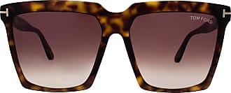 Tom Ford FT0679 52W Dark Havana Shelton Square Sunglasses Lens Category 2 Size