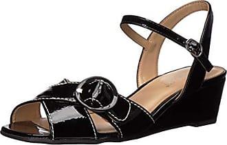 Aerosoles Womens Hornet Sandal, Black Patent, 10 M US