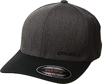O'Neill Mens Lodown Stretch Fit Hat, Grey/Black, L/XL