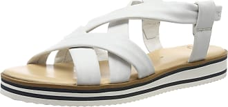 Ara Womens Durban 1214726 Ankle Strap Sandals, White Weiss 06, 7.5 UK