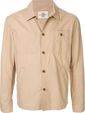 Kent & Curwen short shirt jacket - Brown