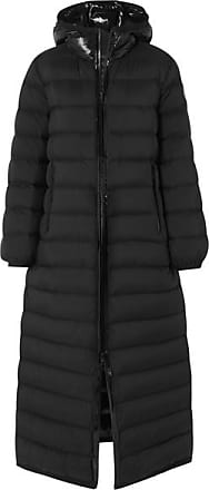Moncler Quilted Shell Down Coat - Black