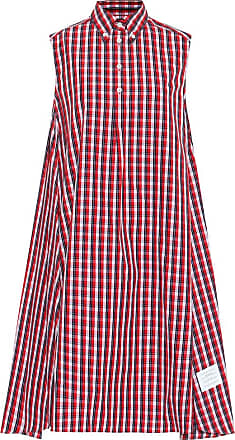 Thom Browne Checked cotton dress