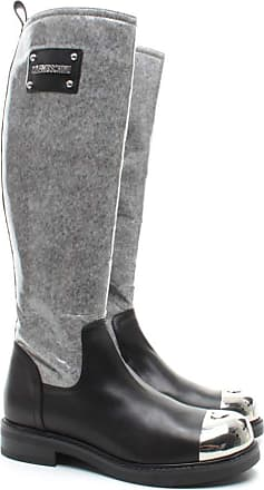 Love Moschino Womens Boot JA26013 Vacch Synthetic Leather Black
