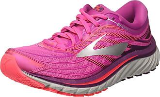 Brooks Womens Glycerin 15 Running Shoes, Pink Pinkpurplesilver 1b608, 3.5 UK