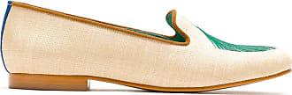 Blue Bird Shoes Loafer Palmeira Leque em palha - Neutro