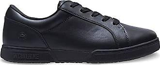 Wolverine Mens Urban Eatery Oxford Industrial Shoe, Black, 11 Medium US